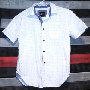 Other - Boys size M (10/12) button down shirt short sleeve